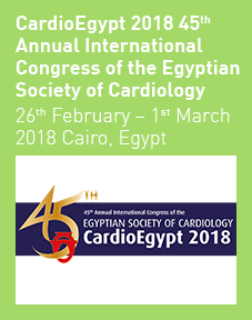 CardioEgypt 2018 45th Annual International Congress of the Egyptian Society of Cardiology<br />