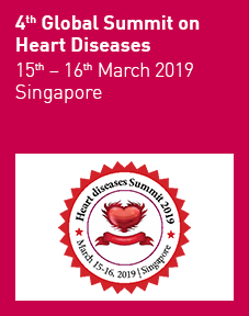 4th Global Summit on Heart Diseases 2019 Logo