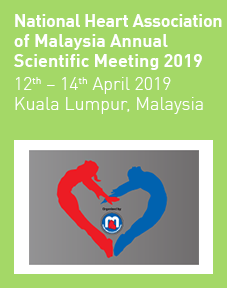 National Heart Association of Malaysia Annual Scientific Meeting 2019 Logo