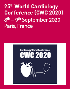 25th World Cardiology Conference (CWC 2020) Logo