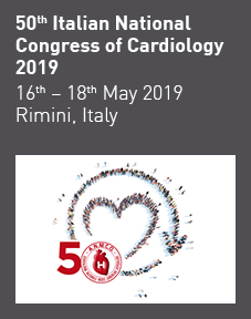 50th Italian National Congress of Cardiology 2019 Logo