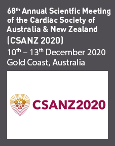 68th Annual Scientific Meeting of the Cardiac Society of Australia & New Zealand (CSANZ 2020) Logo