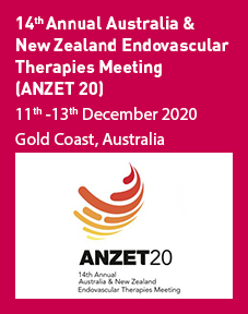 14th Annual Australia & New Zealand Endovascular Therapies Meeting (ANZET20) Logo
