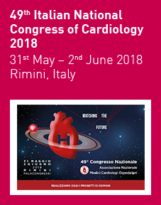 49th Italian National Congress of Cardiology 2018 Logo