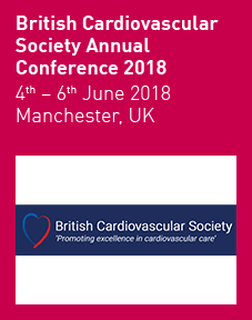 British Cardiovascular Society Annual Conference 2018 Logo