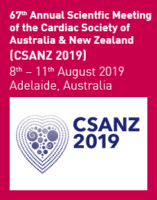 67th Annual Scientific Meeting of the Cardic Society of Australia & New Zealand 2019 Logo