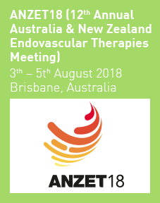 ANZET18 (12th Annual Australia & New Zealand Endovascular Therapies Meeting) 2018 Logo