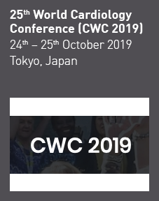 25th World Cardiology Conference (CWC 2019) Logo