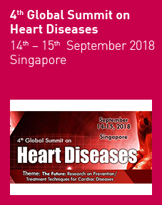 4th Global Summit on Heart Diseases 2018 Logo
