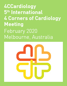 4CCardiology 5th International 4 Corners of Cardiology Meeting 2020 Logo